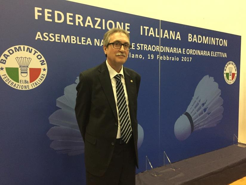 CARLO BENINATI ELETTO PRESIDENTE DELLA FEDERAZIONE ITALIANABADMINTON