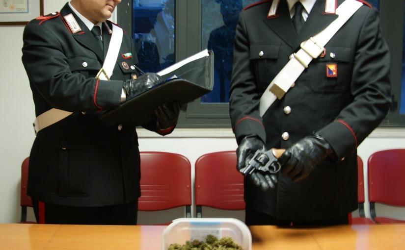 CARABINIERI DI MISILMERI, SCACCO MATTO (CON CAVALLO) ALLA CRIMINALITÀ: ESTORSIONE, ARMI E DROGA. DUEARRESTI